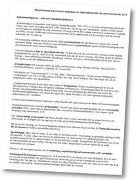 Vitbok om Astronomdagarna