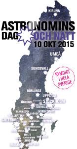 Bild: astronominsdag.se; Bakgrundsbild: Fredrik Karlsson.