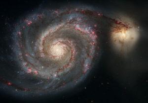Bild: NASA, ESA, S. Beckwith (STScI) och Hubble Heritage Team STScI/AURA