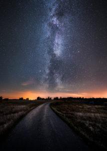 Vintergatan över Öland. Foto: © Jörgen Tannerstedt