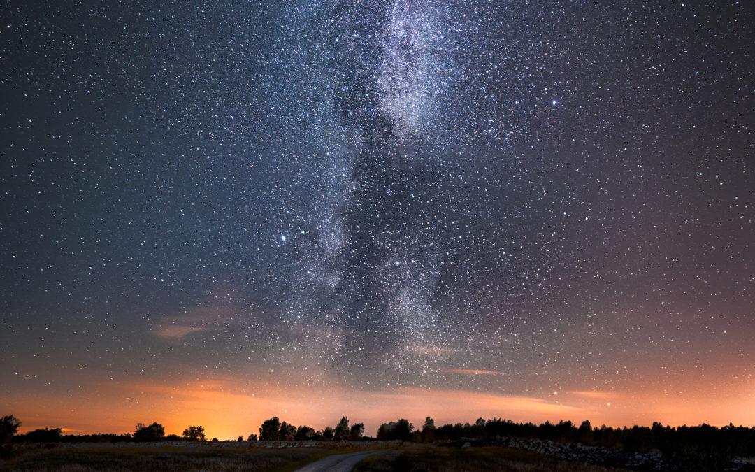 Pressmeddelande: Nu syns vår galax Vintergatan som allra bäst