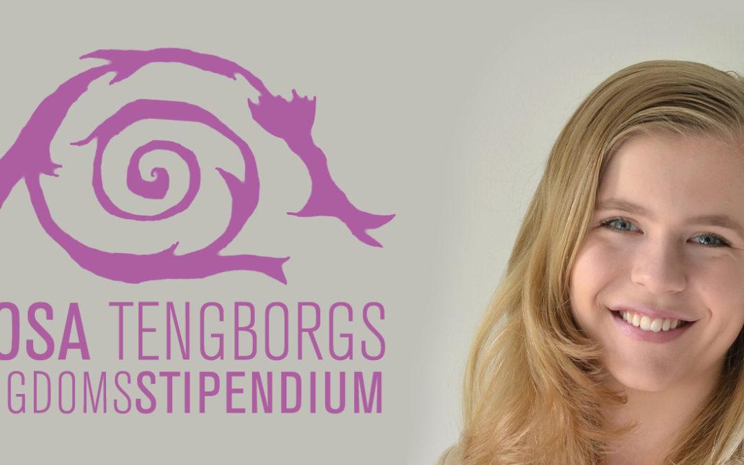 Pressmeddelande: Stolta rymdnörden Cornelia, 17, får stipendium på Astronomins dag