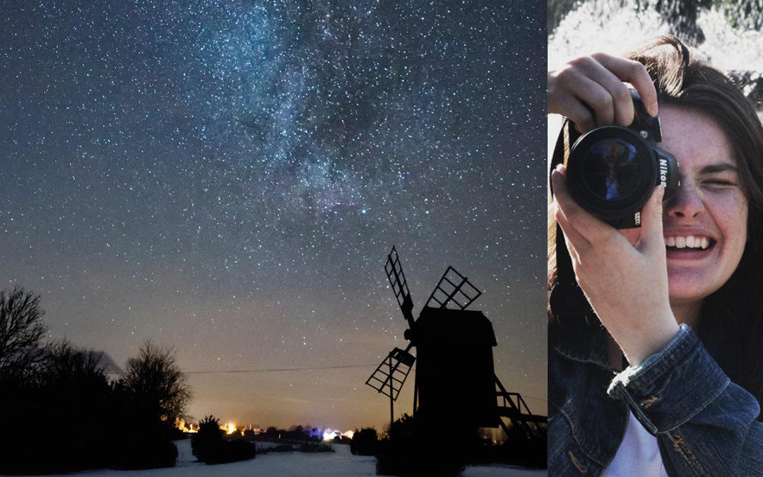 Pressmeddelande: Ung stjärnfotograf Anna Olsson får stipendium för sina nattbilder