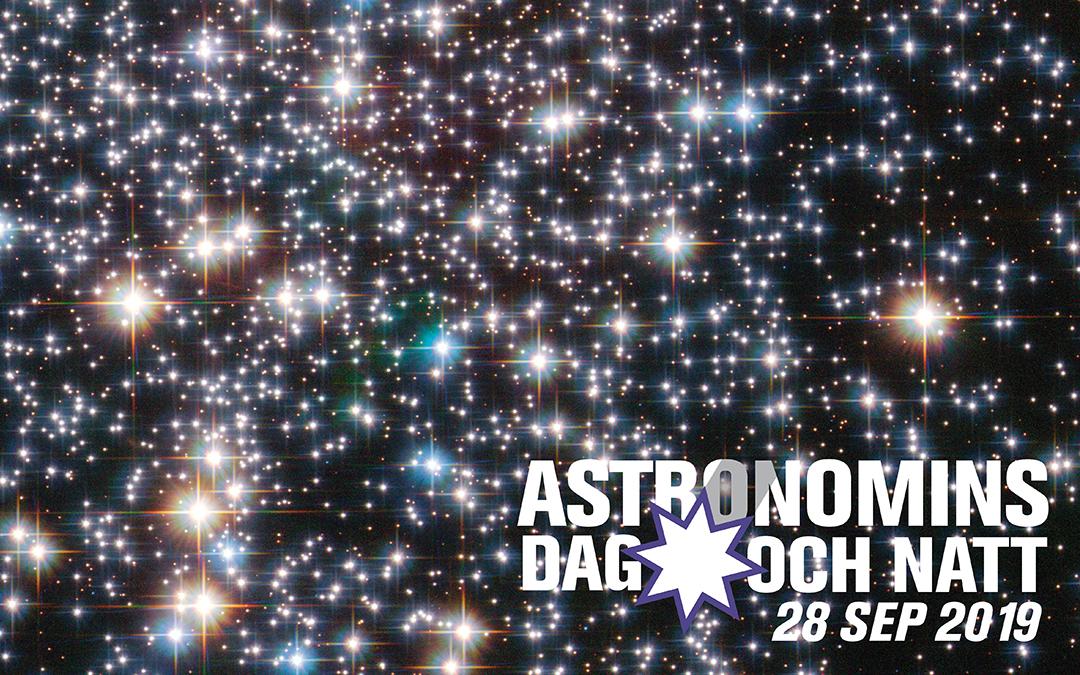 Pressmeddelande: Stjärnglans för alla när Astronomins dag och natt firas den 28 september
