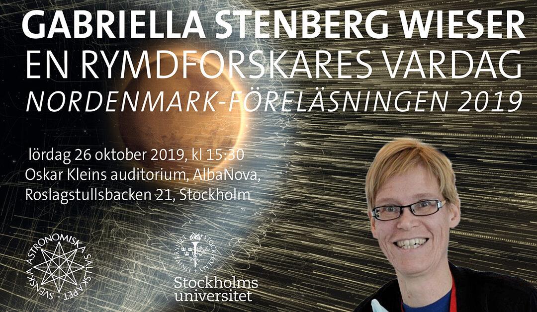 En rymdforskares vardag med Gabriella Stenberg Wieser