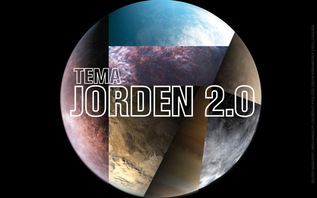 Ett montage av exoplaneter: bilden är skapad utifrån olika illustrationer av exoplaneter från NASA och ESO. Källor: NASA/GSFC, NASA Ames/JPL-Caltech/T. Pyle, ESO, ESO/M. Kornmesser, ESO/L. Calçada