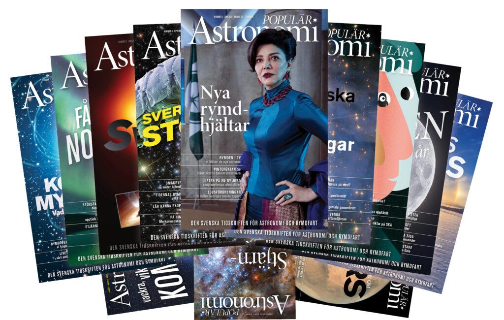 Populär Astronomi, omslag