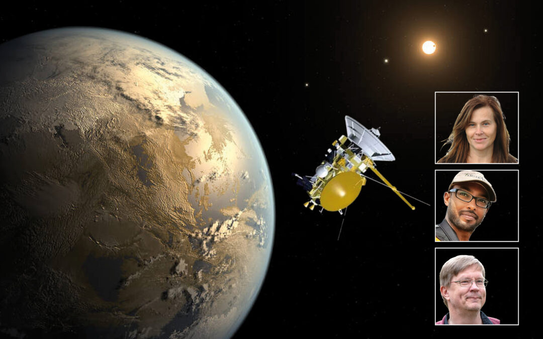 Montage: NASA/GSFC, NASA Ames/JPL-Caltech/T. Pyle, Chalmers, Lunds universitet och IRF