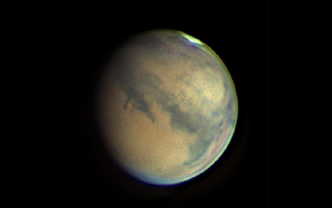 Mars fotograferad av Johan Warell.